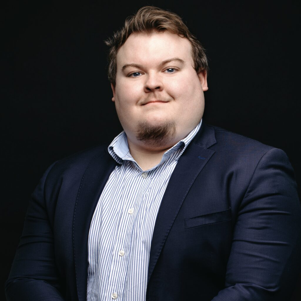 Portrait de Quentin Offerle, membre de la Firme-école en service-conseil des affaires