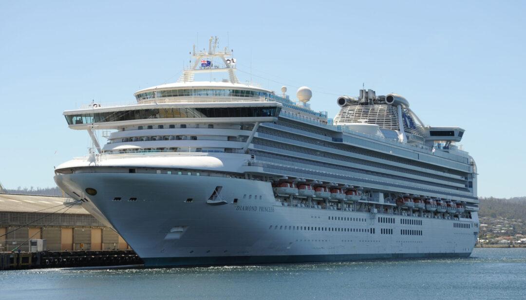 Diamond Princess Cruise Ship