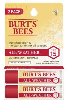 Burt's Bees 100% Natural All-Weather Lip Balm