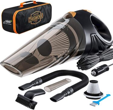 Portable Car Vacuum Cleaner from ThisWorx