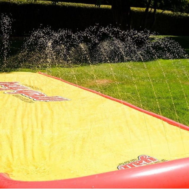 Get ready for the next BC heat wave with this @swell_source custom manufactured @heyyallicedtea branded slip and slide! Check out their page for entry details! #custombuilt #marketing #hardicedtea #heyyall #promotionalproducts #beverage