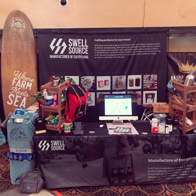 We're hanging out down at the BC Brewers Convention! Swing on by and say hello! #bcbeer #craftbeer #beer #swag #contractmanufacturing #manufacturerofeverything