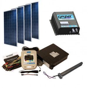 Affordable Power Solution Solar Geyser