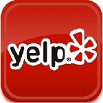 yelp logo with Goody's Pizza linked page