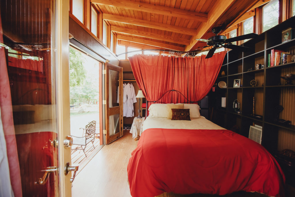 Romantic Red Room