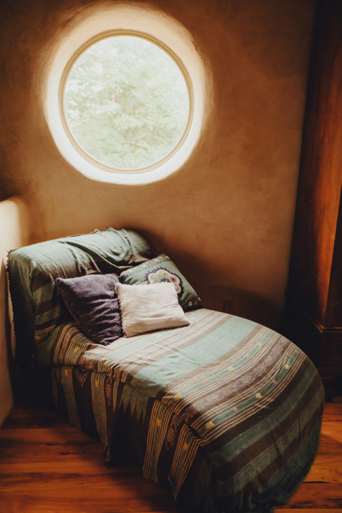 Relax by the second floor moon window