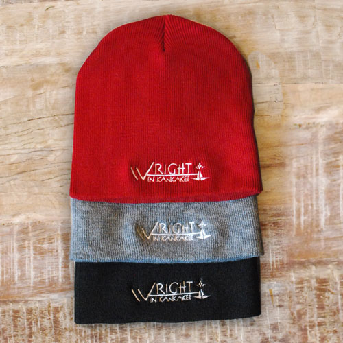 Wright beanies in 3 colors