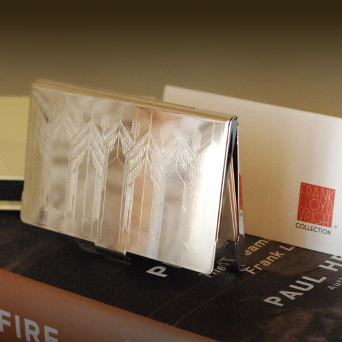 Wright business card holder image