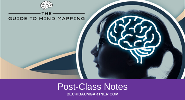 The Guide to Mind Mapping Post-Class Notes