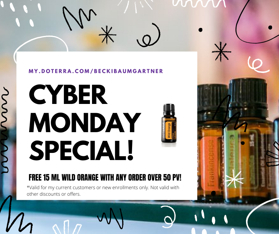 doTERRA 2020 Cyber Monday Special