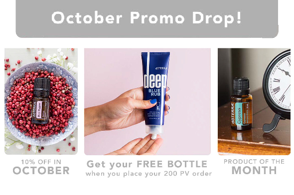 doTERRA October 2021 Promotions!