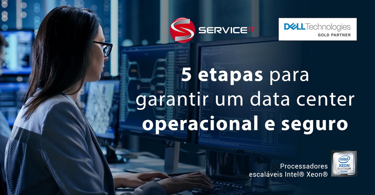 5 etapas que devem fazer parte do processo de verificação e atualização do data center