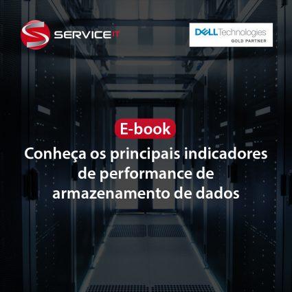 E-book: Conheça os principais indicadores de performance de armazenamento de dados