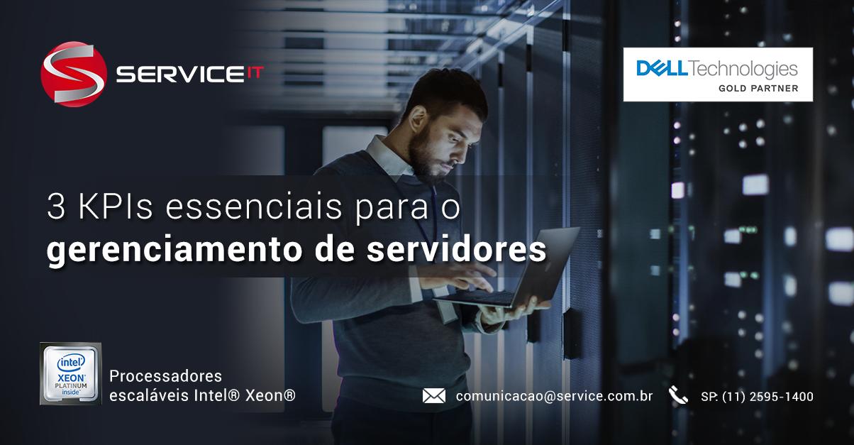3 KPIs essenciais para o gerenciamento de servidores em um data center