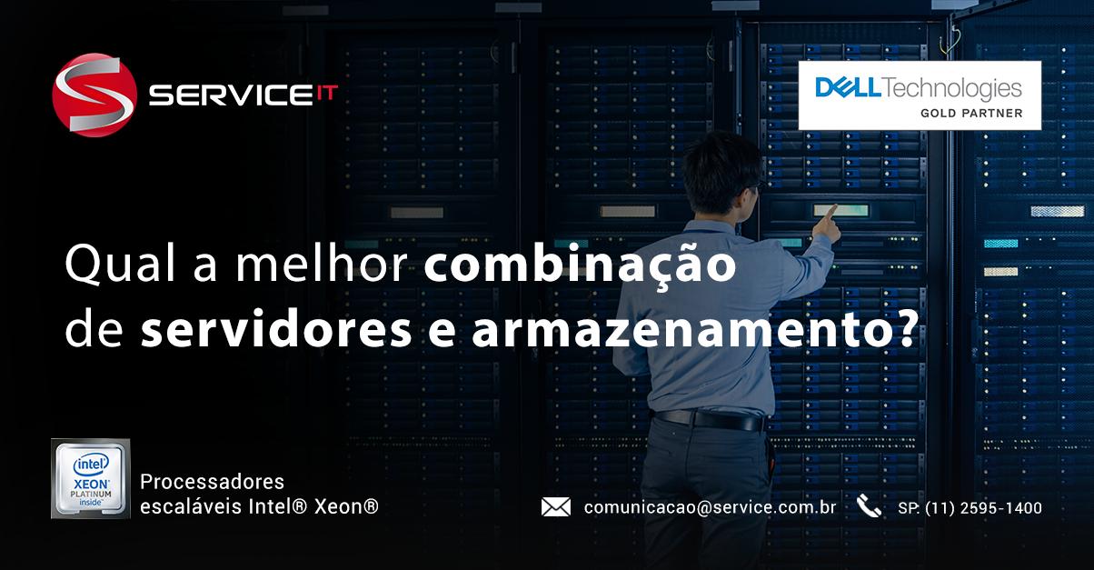 Saiba como obter a melhor combinação de servidores e armazenamento em seu data center