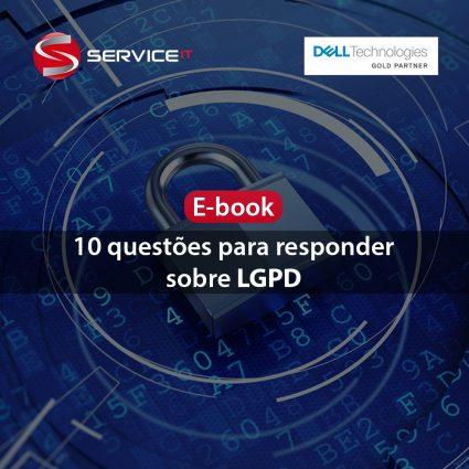 E-book: 10 questões para responder sobre LGPD