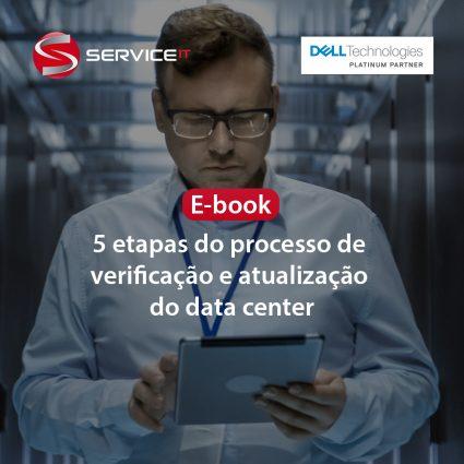 E-book: 5 etapas do processo de verificação e atualização do data center