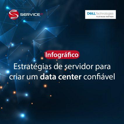 Infográfico PowerEdge – Estratégias de servidor para criar um data center confiável