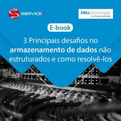 E-book – 3 principais desafios no armazenamento de dados não estruturados e como resolvê-los
