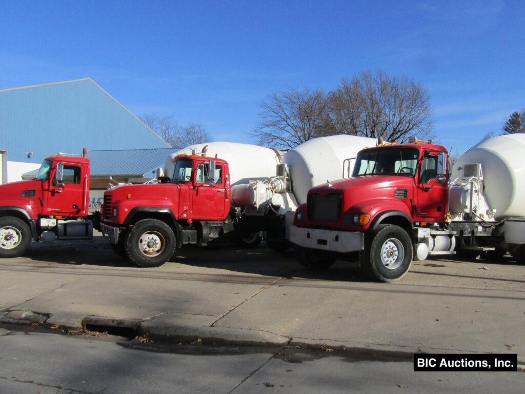 March Concrete Equipment Auction