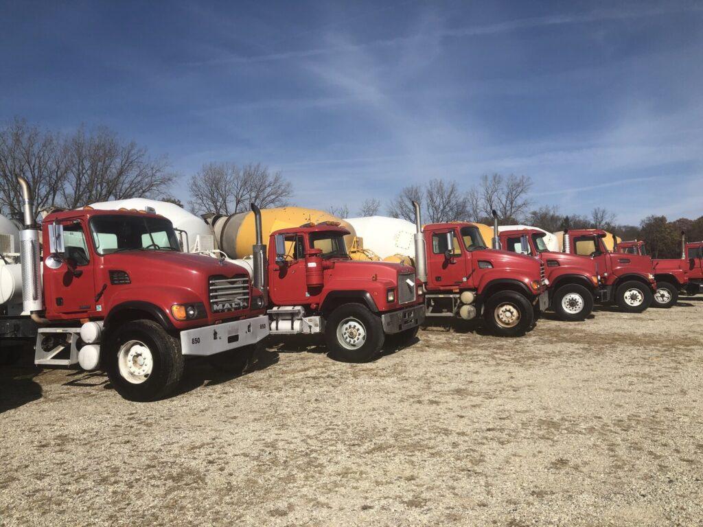 Year-End Concrete Equipment Auction
