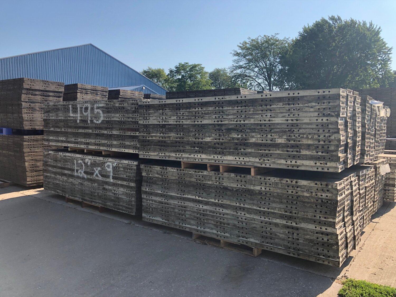 HUGE Concrete Form Auction