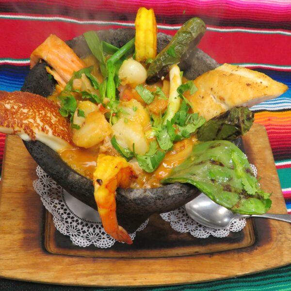 Seafood Molcajete