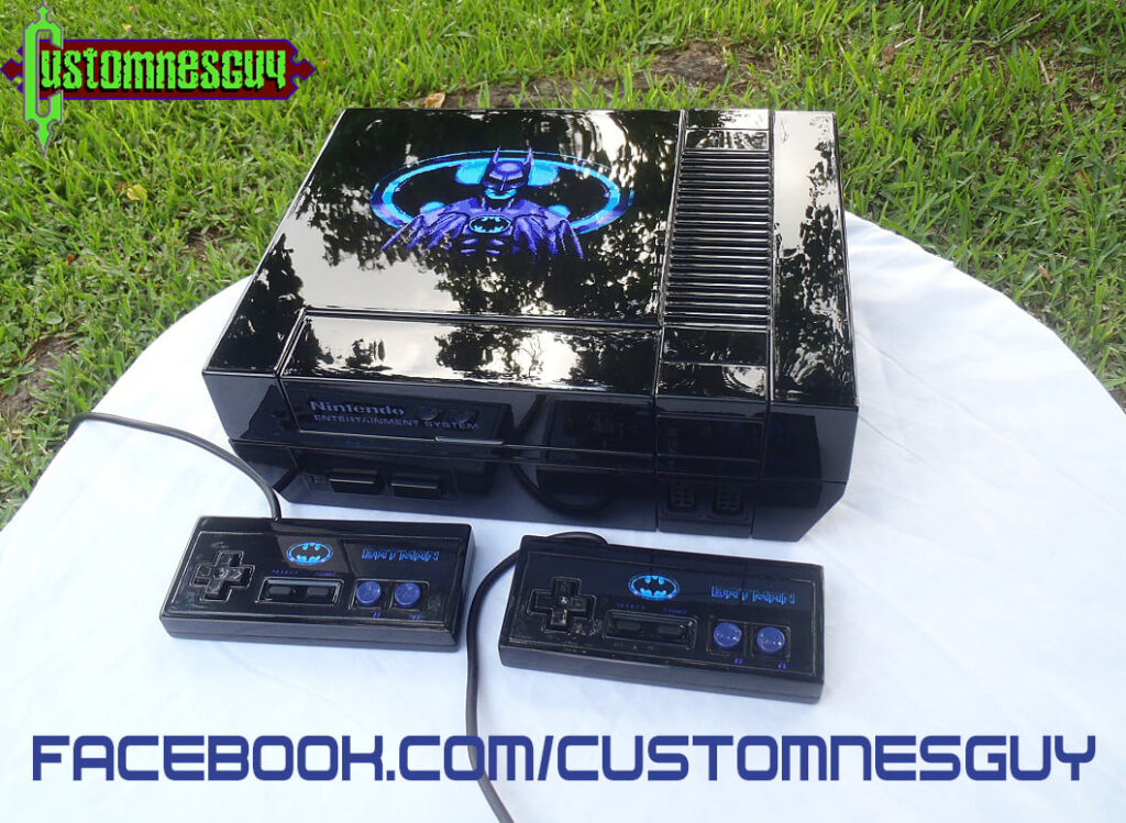 How One Man Creates Art From Classic Consoles