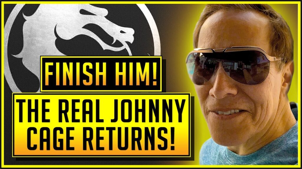 Get a Behind-the-Scenes Look at the REAL Johnny Cage