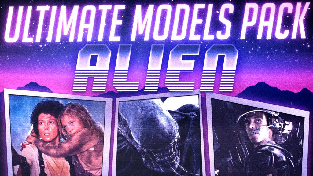 Alien | Ultimate Models Pack