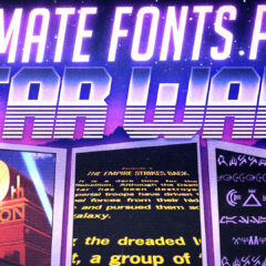 Star Wars | Ultimate Fonts Pack