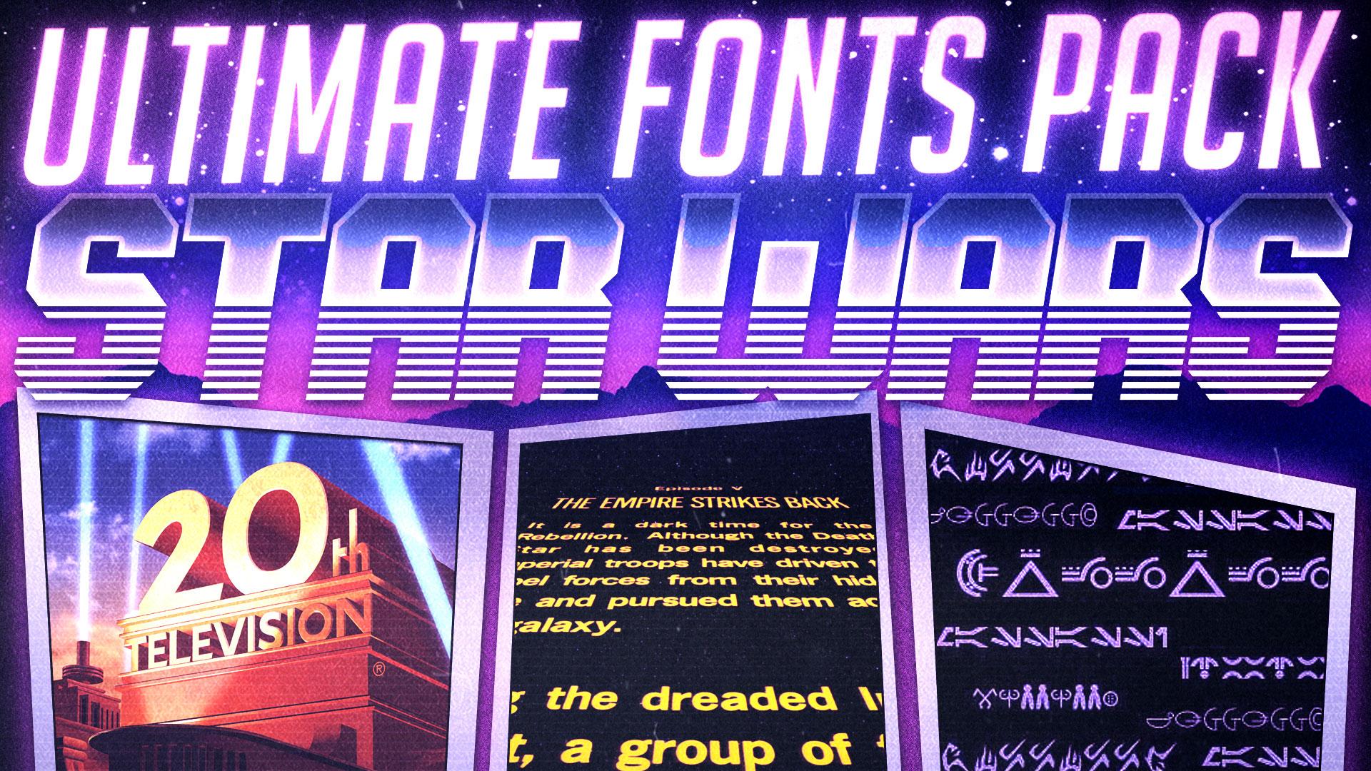 Star Wars   Ultimate Fonts Pack