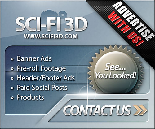 Advertise with Sci-Fi 3D