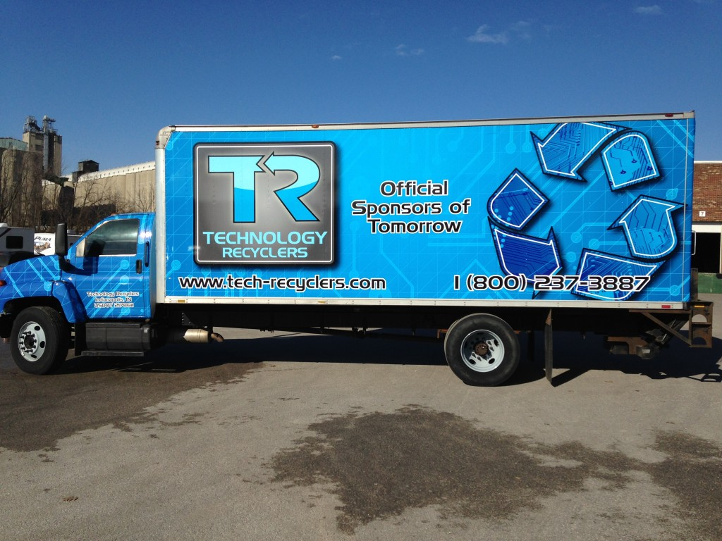 Blue truck 1