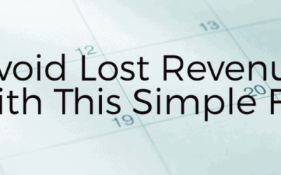 Avoid Lost Revenue with this Simple Fix.