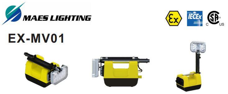 EX-MV01 Portable Explosion Proof LED Work Light