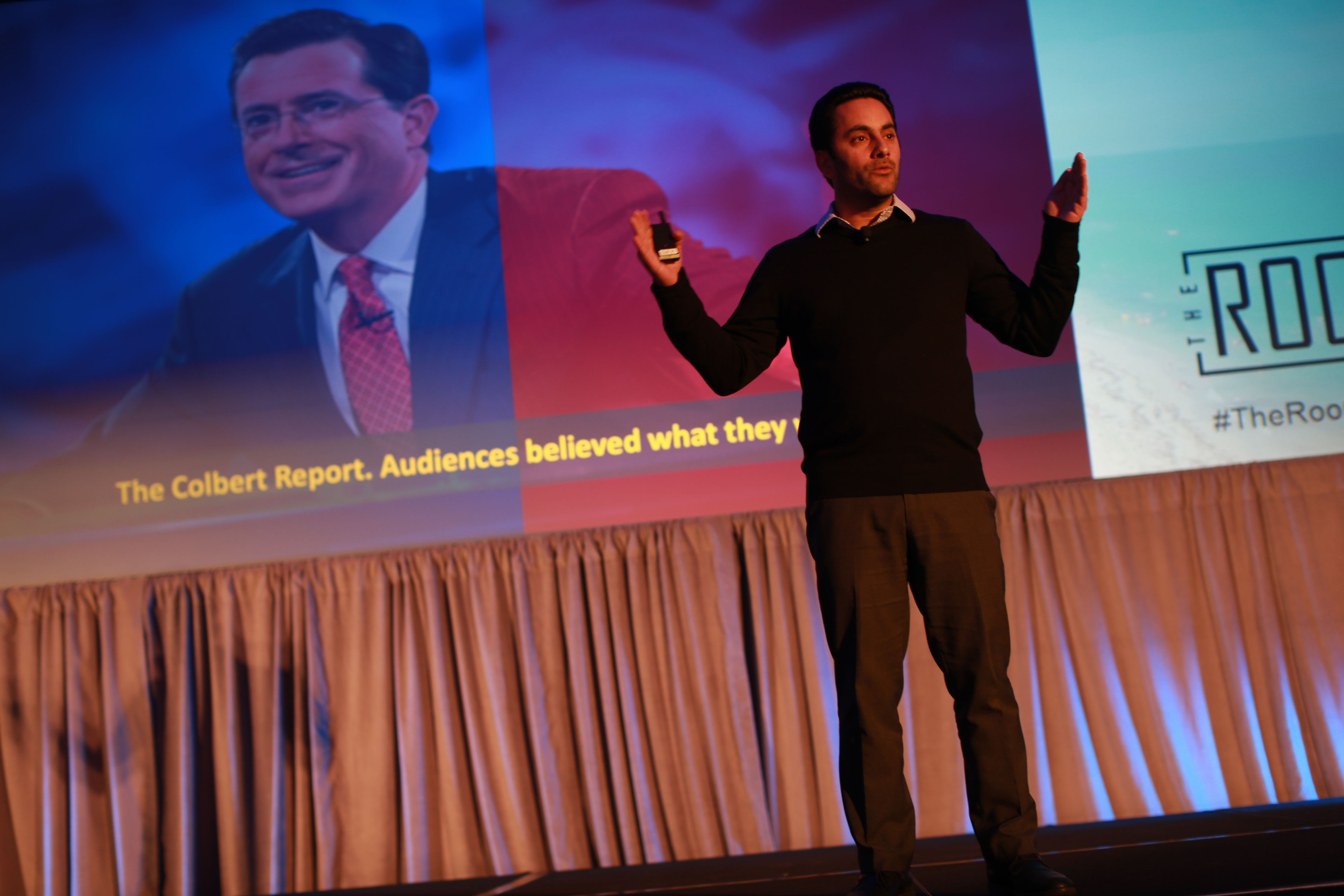 At The Room - an exclusive marketing summit in Miami, Florida