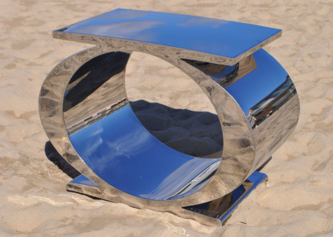 OC-Union in Mirror Polished Stainless Steel