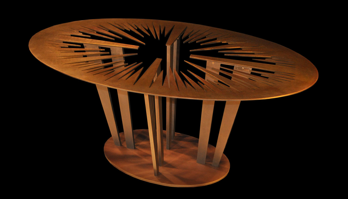 Sunshine Revealed Bronze Table Base