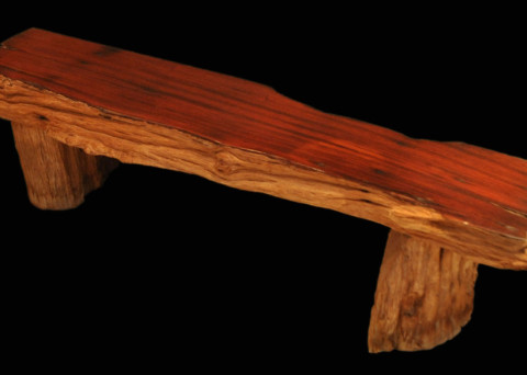 Water-worn Rosewood Bench cw