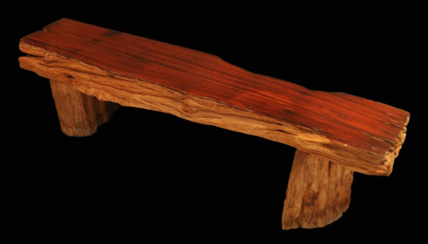 Water-worn Rosewood Bench cw