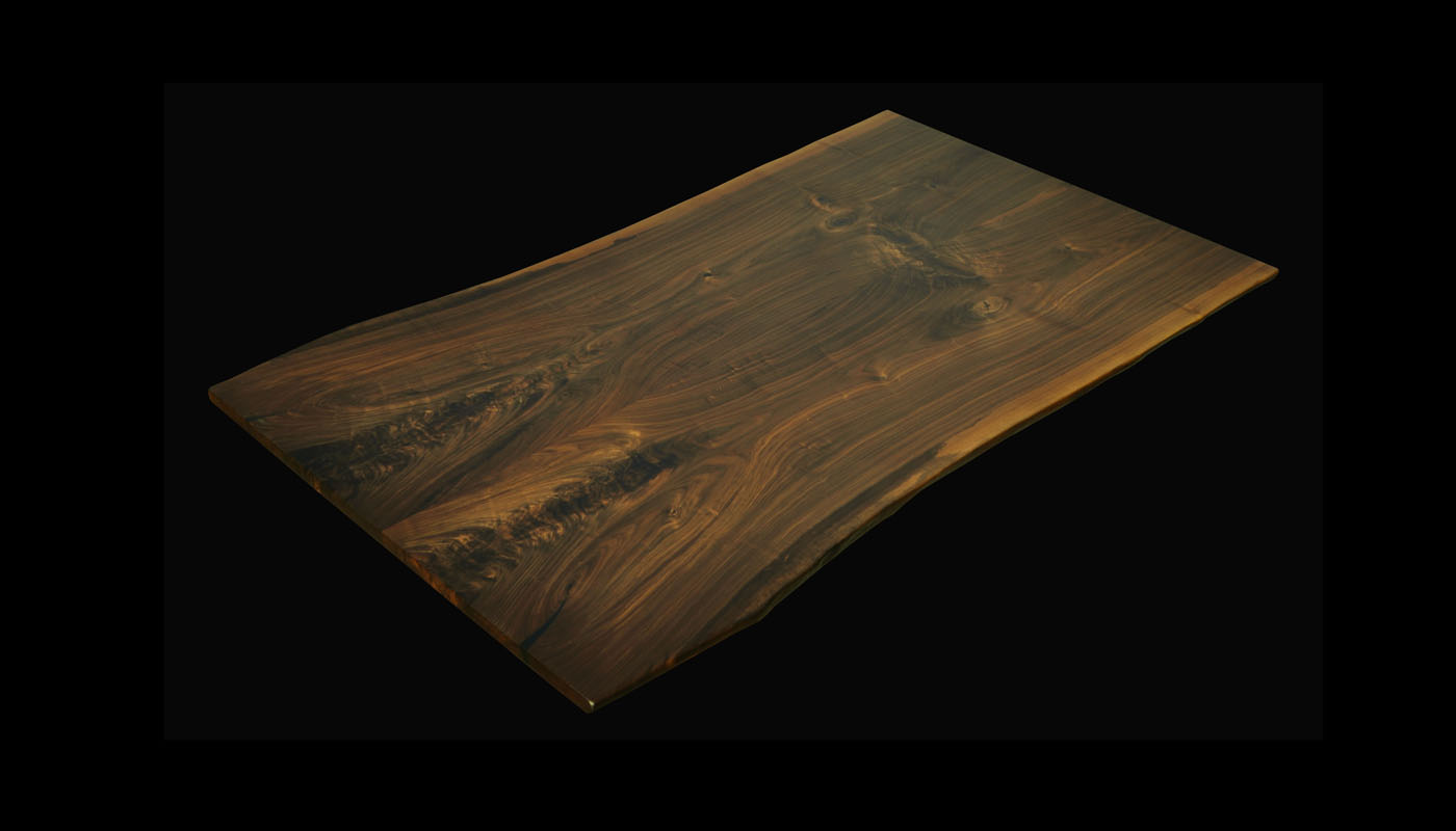 Book-matched Walnut 7x42cwh