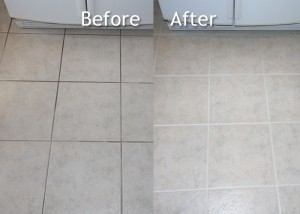 Before & After Tile & Grout Cleaning - Avon