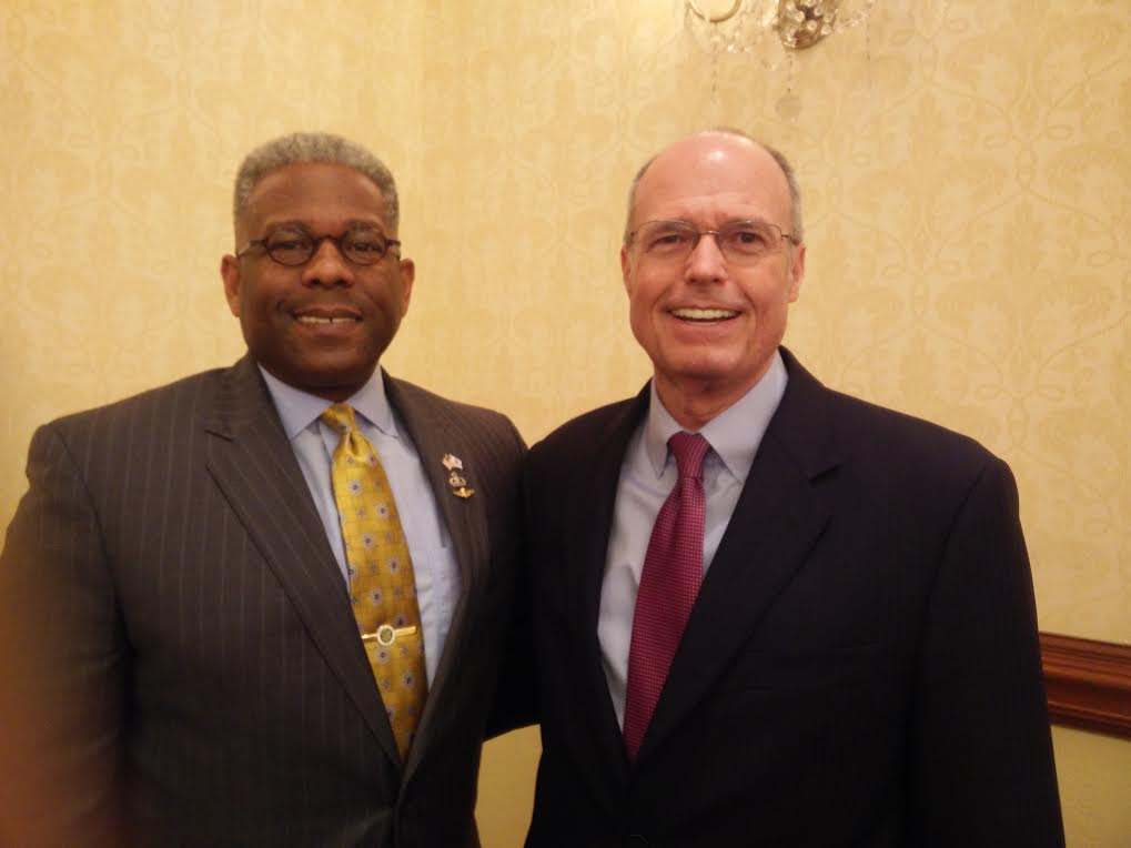 Allen West, Executive Director & Vice Chairman of the Board of Directors, with Richard Bowen.