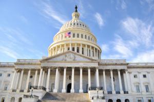 Capitol Hill Building . Washington DC.