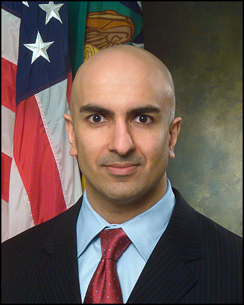 US Dept. of Treasury photo of Neel Kashkari  - Public Domain