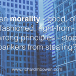 Philosophy for Bankers…? How About Just Classes in Honesty and Ethics?