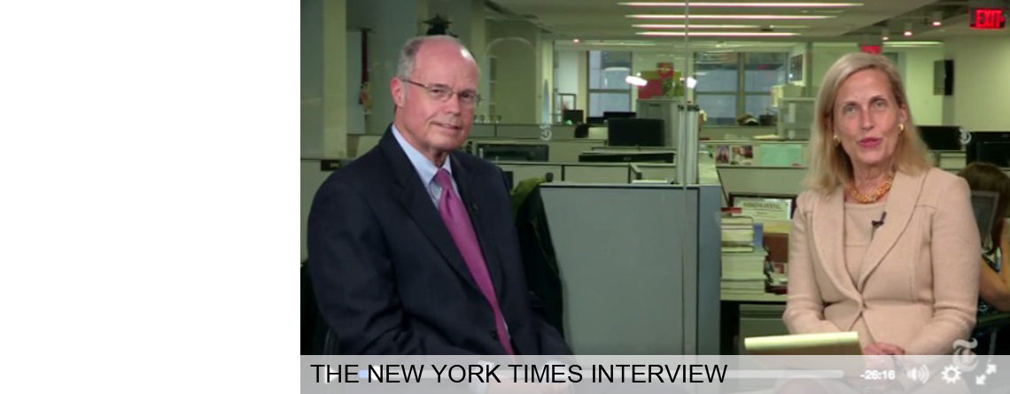 My New York Times Interview on Facebook Live…