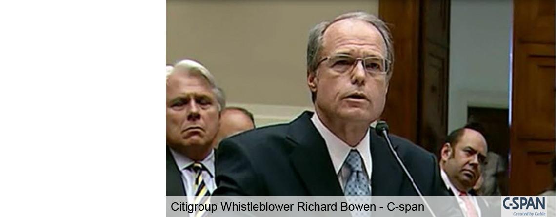 Ethical Leadership Speaker &Citigroup Whistleblower
