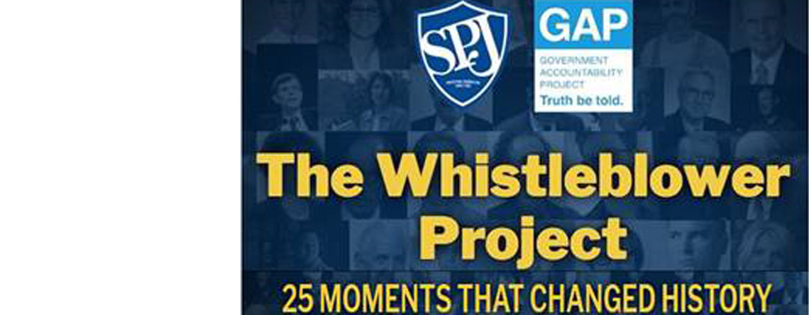 Richard was named one of 25 whistleblowers who changed history.